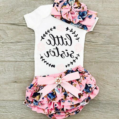 newborn infant baby girls outfit clothes tops