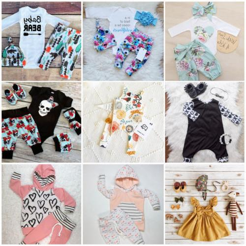 Newborn Kid Boy Girl Romper Jumpsuit A