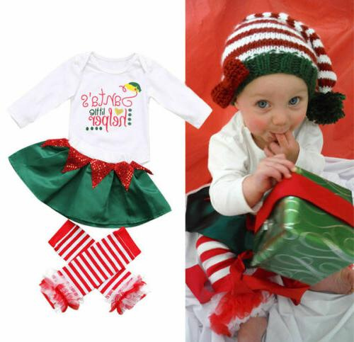 Newborn Baby Christmas Pants Outfit