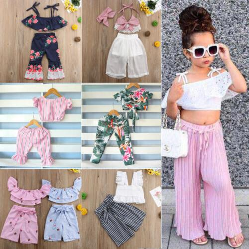 Fashion Newborn Toddler Girl Crop Long Pants US