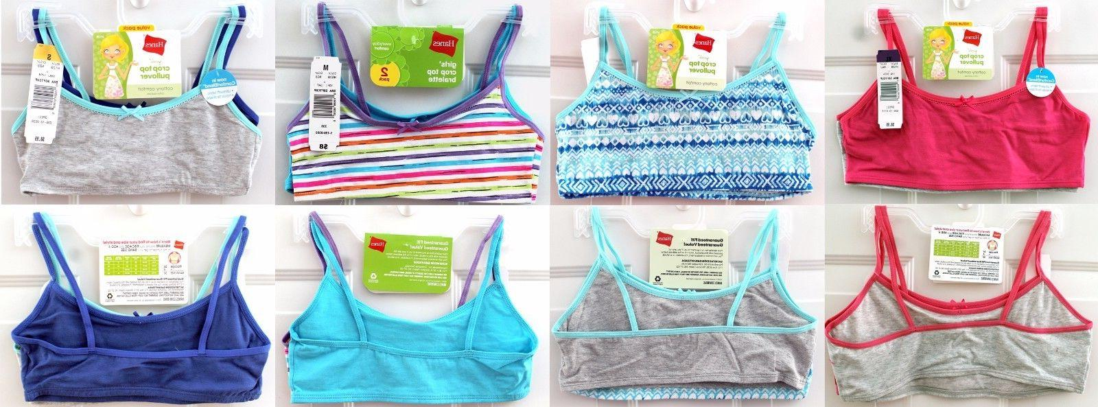 nwt girls 2 pack crop top soft
