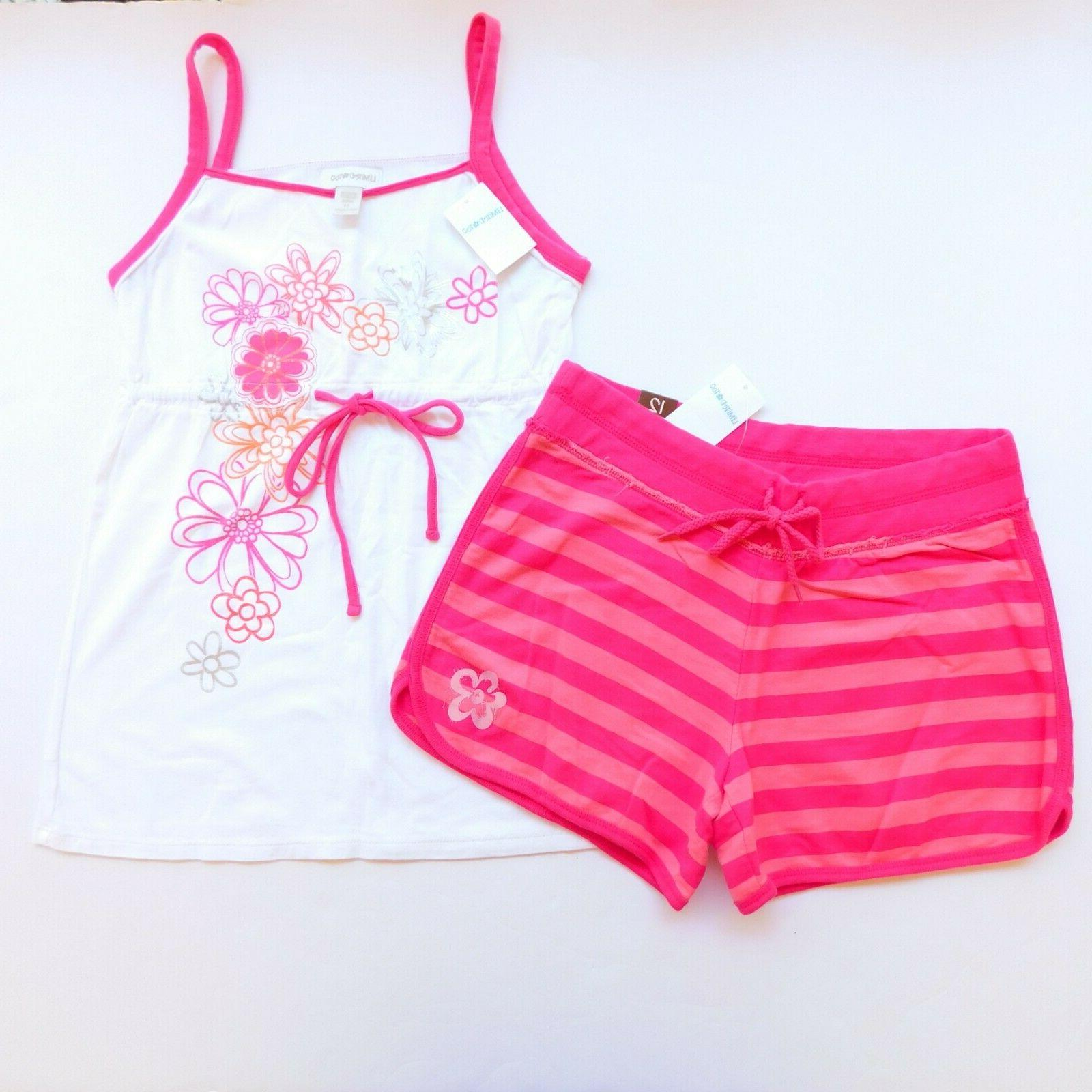NWT Girls Justice Limited Too Tops Shorts Lot New