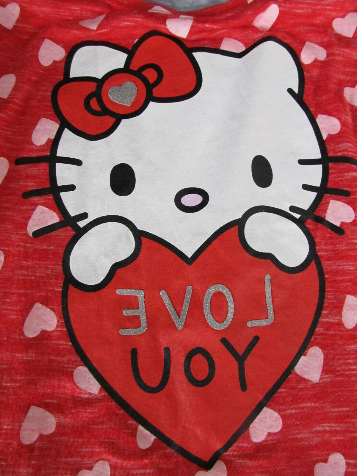 NWT Hello Kitty XL two Valentine