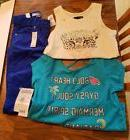 NWT Lot of 3 Girls clothing Disney Gap Size Medium Size 8 1x