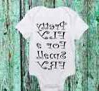 Pretty Fly for a Small Fry Onesie - Cute Baby boy or Girl cl