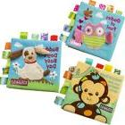 Soft Cloth Book Baby Toy Early Learning Education Animals Bo