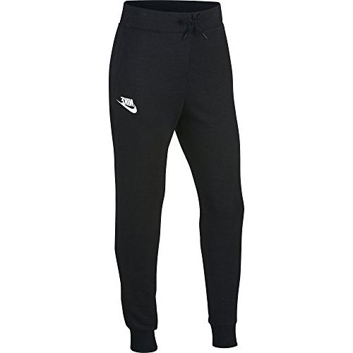 sportswear girls pants black white large
