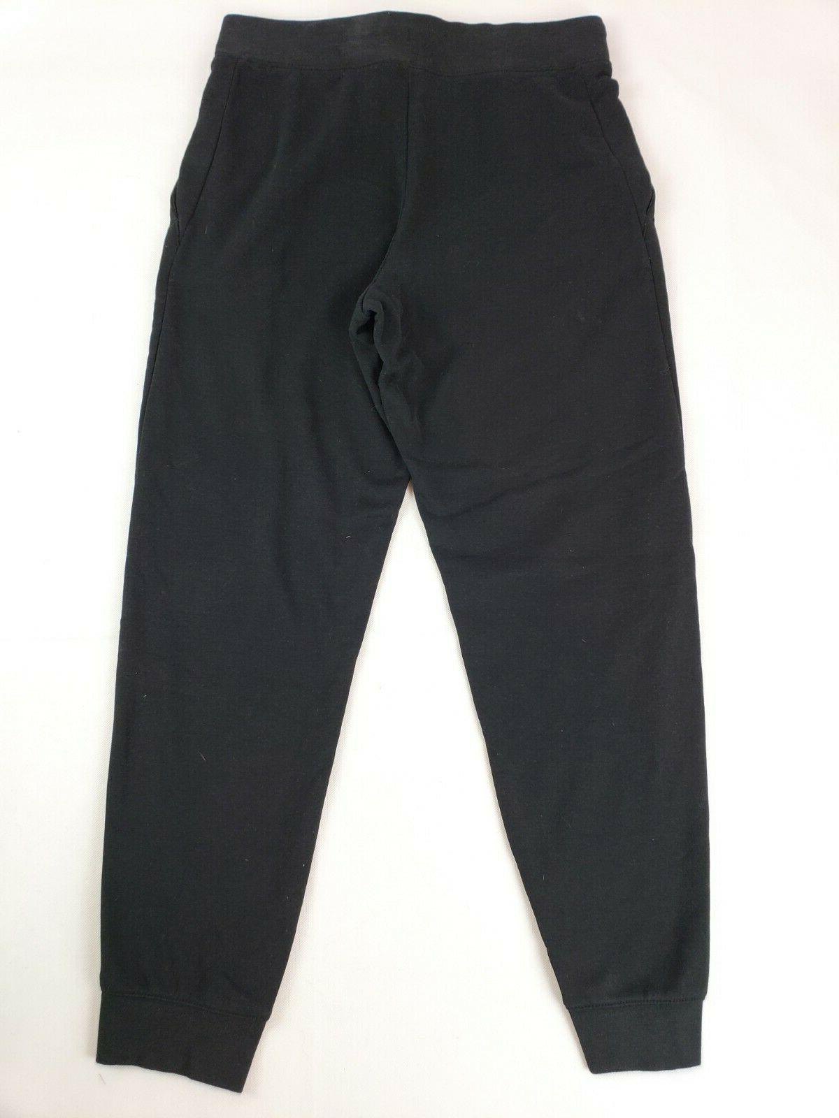 NIKE Sportswear Girls' Pants, Black/White,