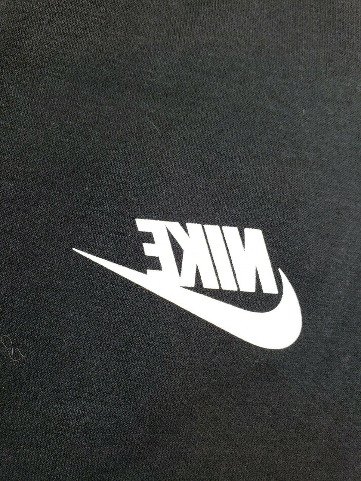 NIKE Sportswear Black/White, X-Large, XL,