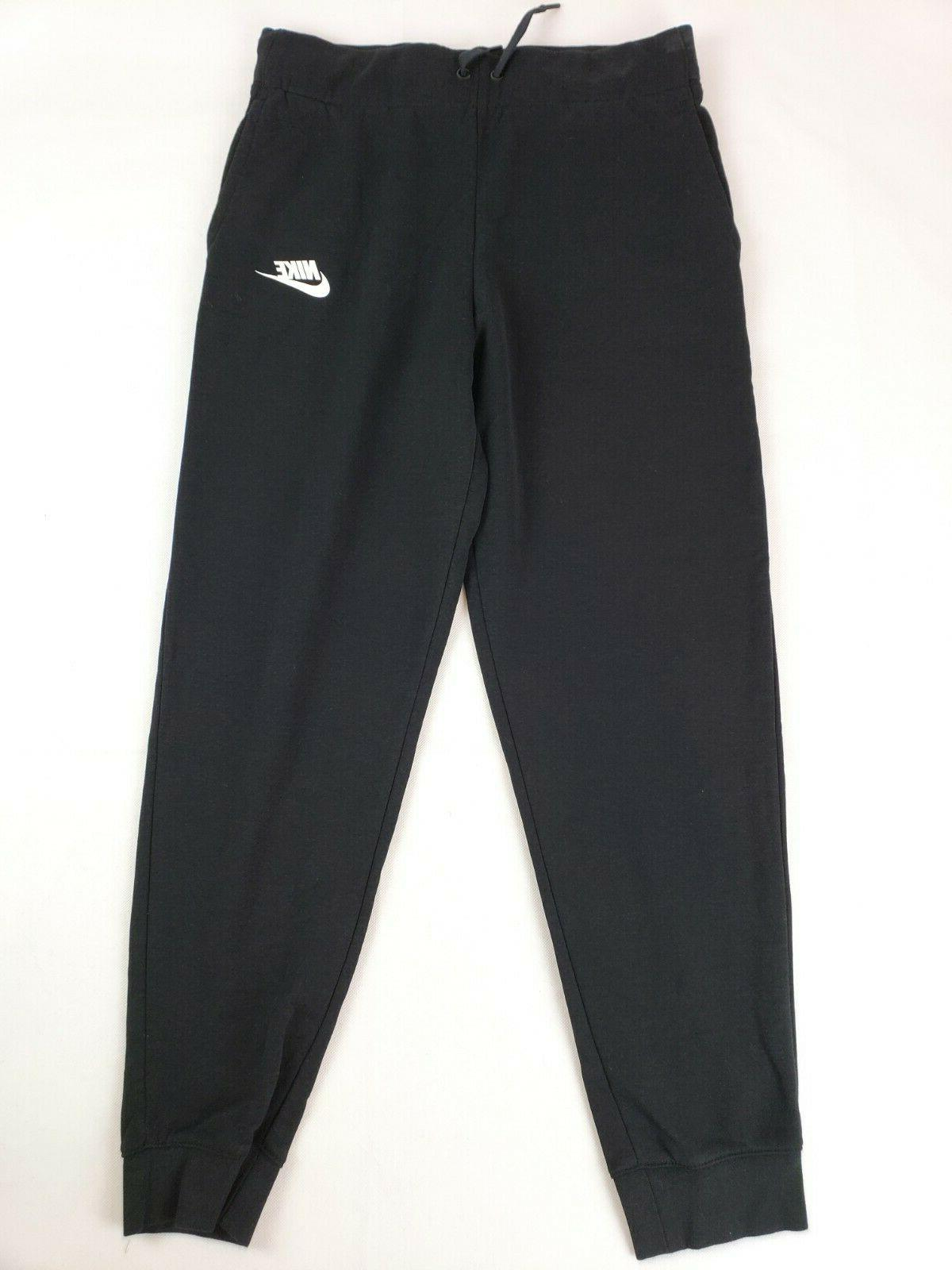 sportswear girls pants black white x large