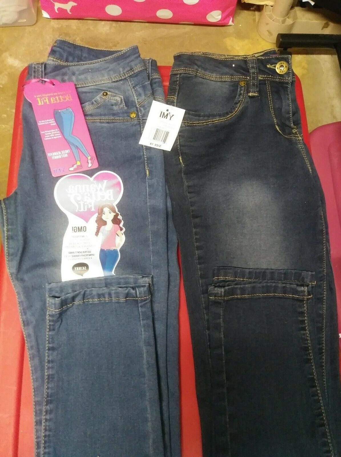 Super Adorable New of Justice YMI Jeans