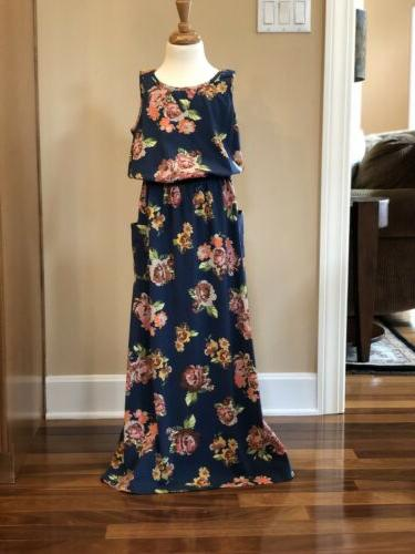 teen to the maxi dress size 10