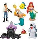 The Little Mermaid Ariel Playset 7 Figure Cake Topper * USA