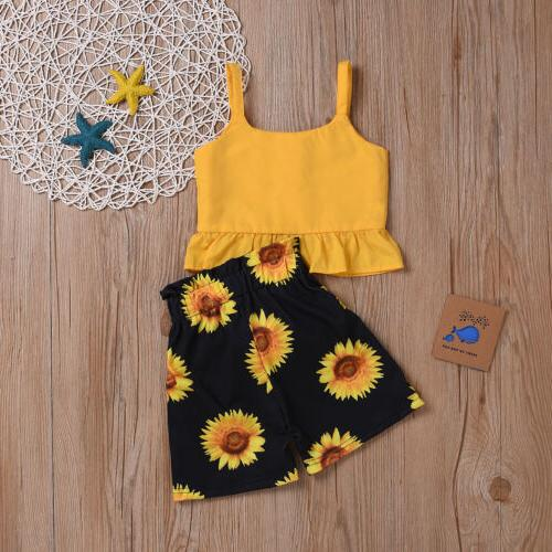 Toddler Summer Clothes Shorts Outfits