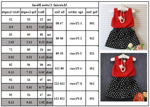 Toddler Kids Outfits Tops 2Pcs