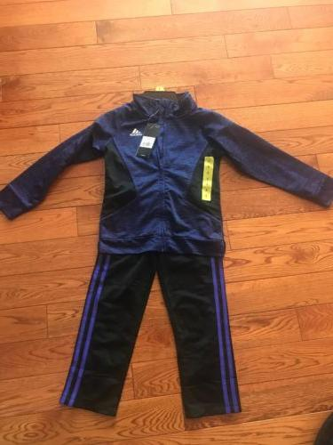 tricot jacket and pants girls nwt purple