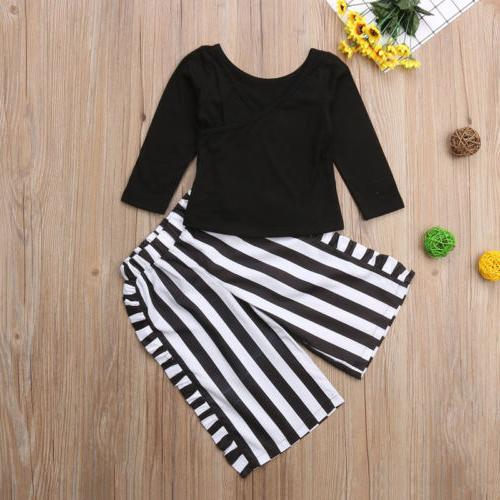 US Infant Kid Clothes T-shirt Outfits