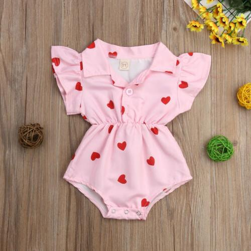 US Flower Blouse Romper Bodysuit Jumpsuit Summer
