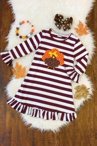US Cute Toddler Baby Girls Dress Christmas Party Pageant Dre