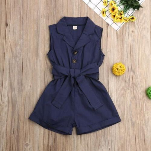 US Girl Clothes Jumpsuit Outfit