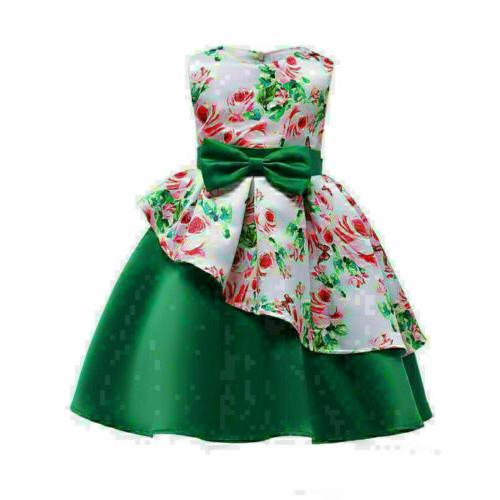 Baby Floral Party Clothes