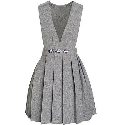 US Girls Dress Pleated Size