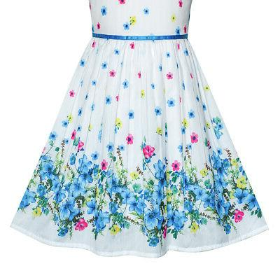 Sunny US STOCK! Petal Summer Sundress 4-12