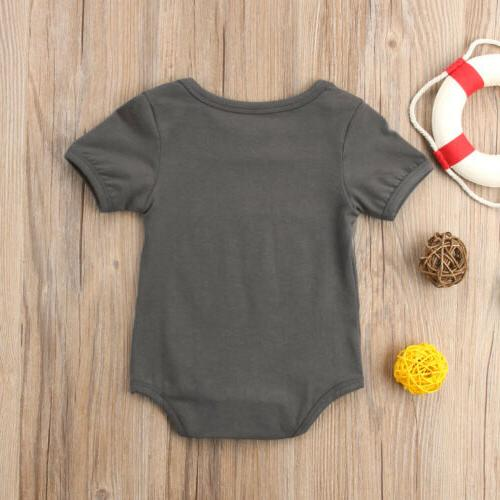 US Clothes Kids Bodysuit Funny Outfits