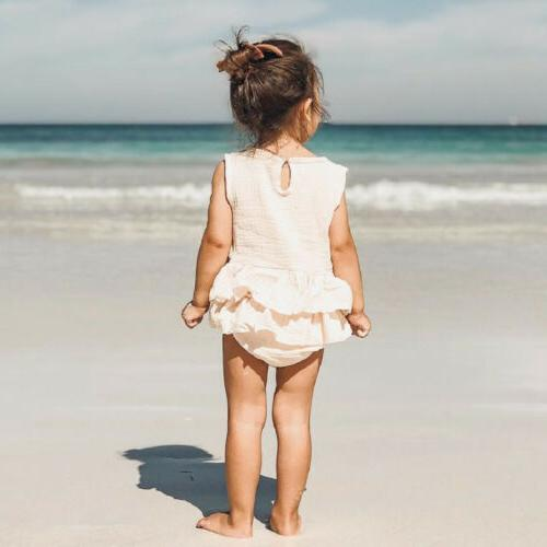 US Summer Baby Romper Outfit