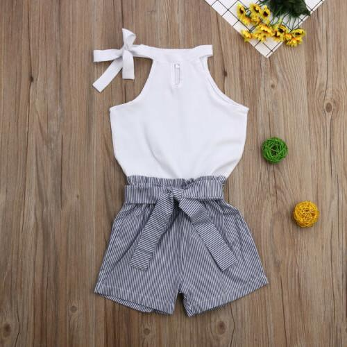 US Toddler Kid Outfit T-shirt