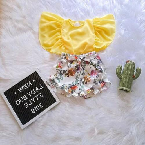 us toddler kid baby girl summer outfit