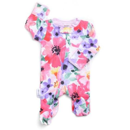 US Newborn Girl Floral Romper Jumpsuit Clothes