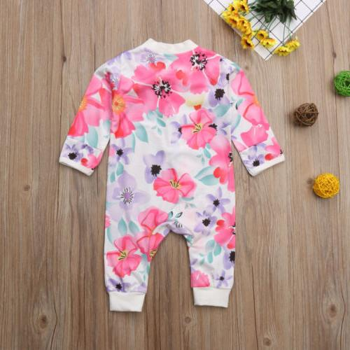 US Girl Floral Romper Jumpsuit