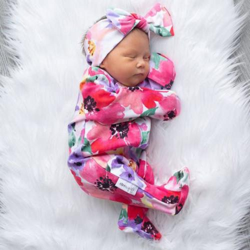 US Newborn Girl Romper