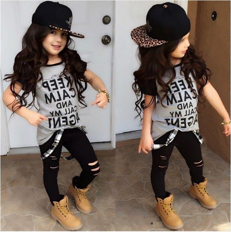 USA Toddler Girl Leggings Outfits