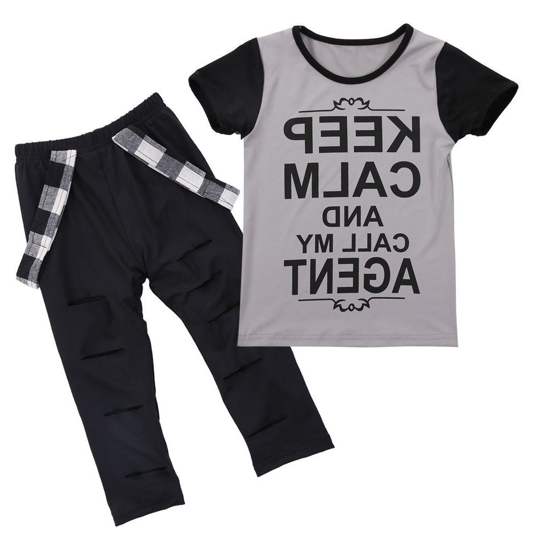 Girl Tops Leggings Outfits Set Clothes