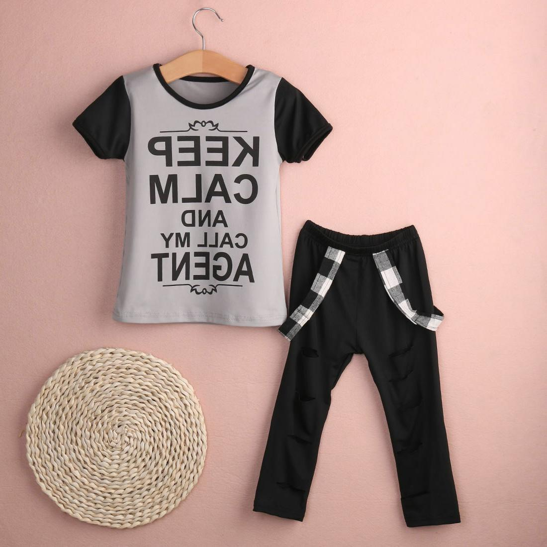 USA Toddler Girl Leggings Clothes