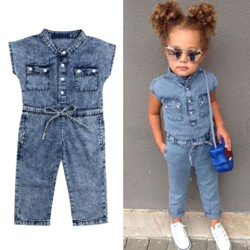 USA Toddler Jumpsuits Playsuit Outfits