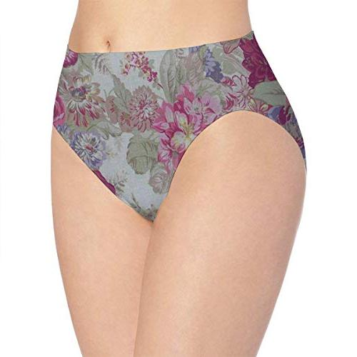 womens underwear flowers ideas personalized bikini brief
