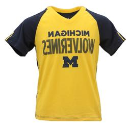 Michigan Wolverines Official NCAA Apparel Kids Youth Girls S