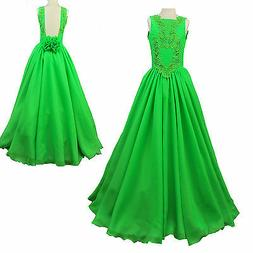 NEW GIRLS CHILDREN NATIONAL PAGEANT GLITZ DRESS Formal Weddi