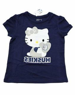 new girls toddlers t shirt huskies heart