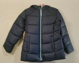 New Tags! Girls Kids XS  Bubble Puffer Jacket - Blue Cove -
