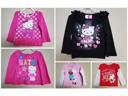 *NWT- HELLO KITTY - BABY TODDLER GIRL'S LS GRAPHIC T-SHIRT -