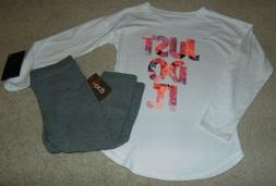 nwt girls bcg and nike outfit size