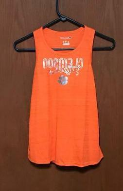 nwt ncaa clemson tigers girls tank top