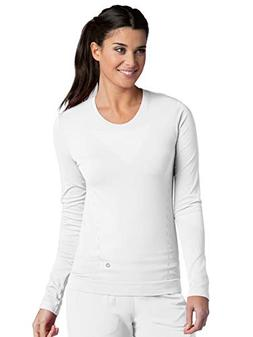 Barco One 5305 Long Sleeve Crew Neck Tee White M