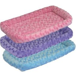 """Quiet Time Fashion Bed - Pink - 17"""" x 12"""""""
