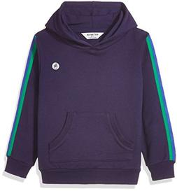 Kid Nation Kid's Solid French Terry Oversized Hooded Sweatsh