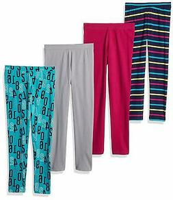Spotted Zebra Girls' Toddler & Kids 4-Pack Casual & Comforta